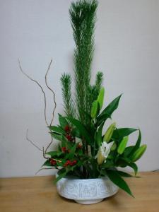 2010・12・30 お正月のお花
