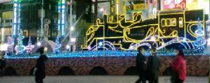2011・01・09新橋SL広場イルミネーション