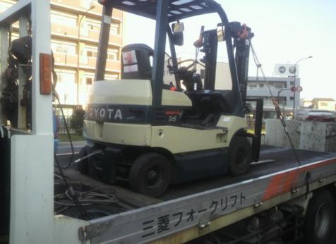 東京フォークリフト買取2