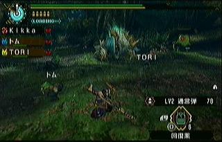 ジンオウガ初対戦
