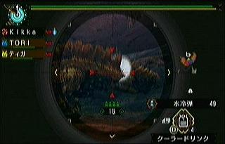 尻尾甲殻はがし