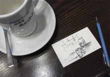 $あしあと工房 in 神戸波止場町TEN×TEN-たんぽぽの珈琲カップと