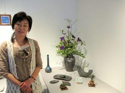 花好き人の花器 下澤和子
