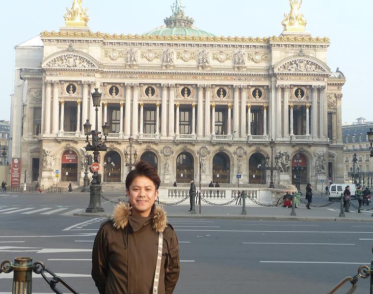 KENBLOODケンブラッド代表甲府のken inフランスパリ