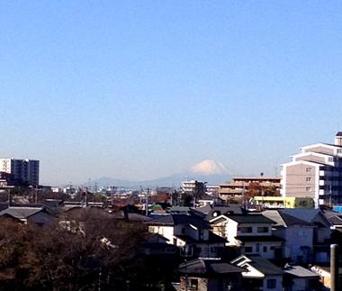 富士山見えた!