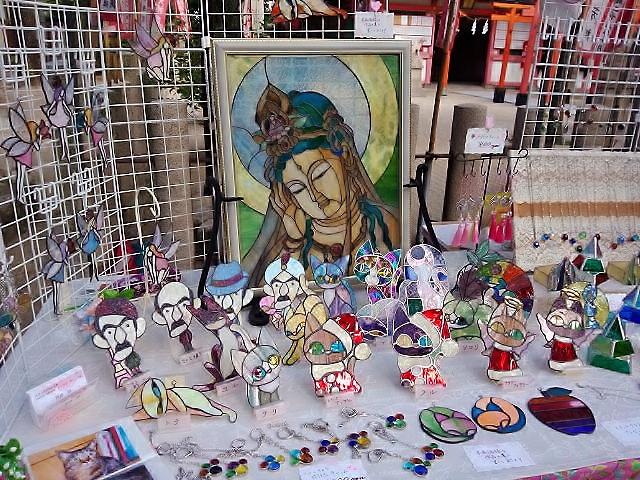 手作り市湊川神社