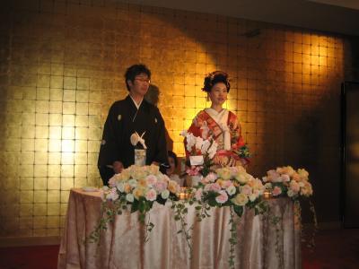 太一朗さん結婚式和装