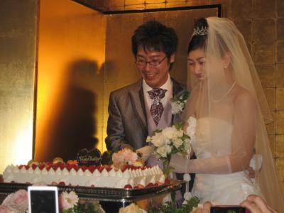 太一朗さん結婚式2人アップ