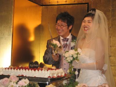 太一朗さん結婚式笑い