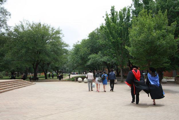 12:10ANU大学構内