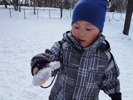 雪遊び-3