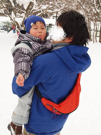 雪遊び-11