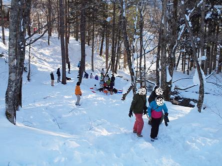 雪遊び-12