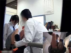 悪徳医師のJK喰い記録映像(エロ画像)