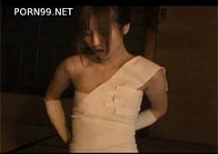 【エロ動画】包帯でグルグル巻きな被虐性マゾヒストの陵辱AV!