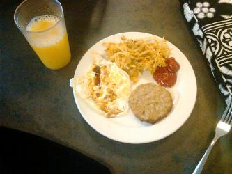 dining hall breakfast