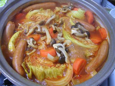 100125トマト鍋