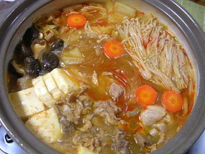 100215キムチ鍋
