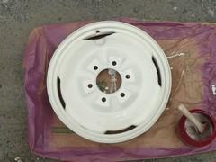 荷台ホイール塗装