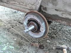 荷台ブレーキ修理