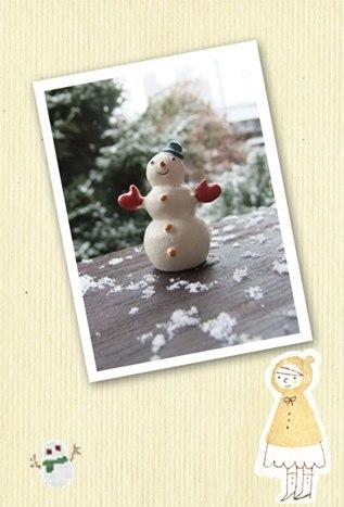 今年はよく雪が降るねぇ・・・