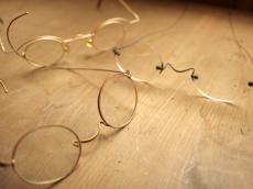 レトロなメガネ