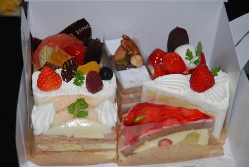 おケーキ様たち