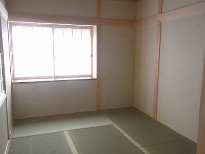 1階和室西側方向