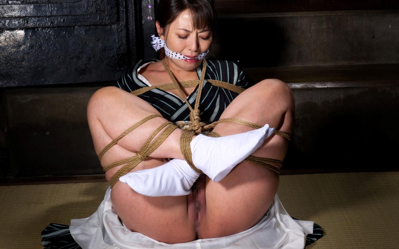 胡坐縛り KIMONO116