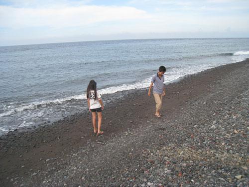 テジャクラの海