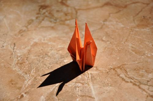 一眼レフ 折り紙