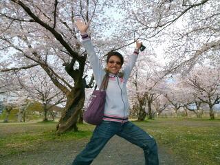 嵐山お花見3