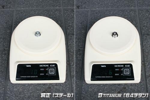 βTitanium製 グリップロックナット【M10・P1.25】