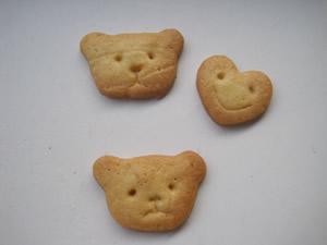 くまハートクッキー1