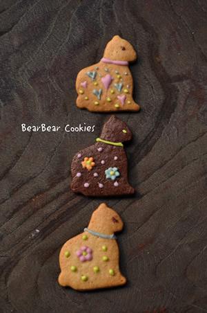 ねこクッキー大3