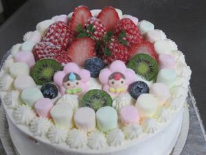 雛ケーキ9