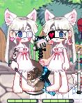姉妹にゃん!