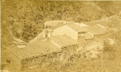 佐渡鉱山 機械工場