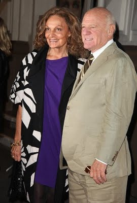Out 2010 Barry Diller Diane Von Furstenberg