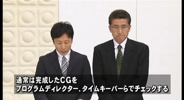 東海テレビ(不適切な放送のお詫びとご報告)8月5日10