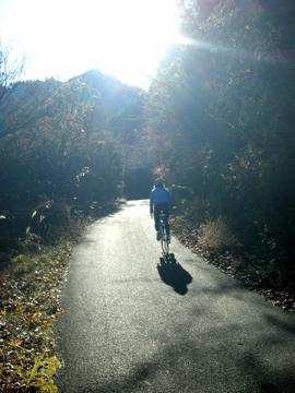 奥武蔵サイクリング その2(林道栗山線)3