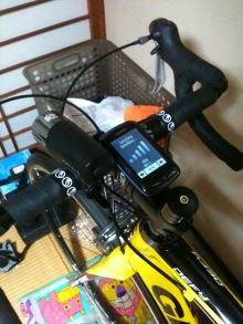 研究と自転車生活-edge800