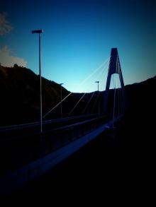 $研究と自転車生活-奥多摩大橋