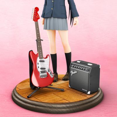 梓とギターとアンプ