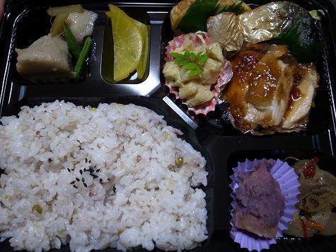 お弁当のかほり「日替り幕ノ内480円 12.Apr.10」