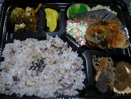 お弁当のかほり「日替わり幕の内480円 23.AUG.10」2