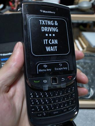 BlackBerryTorch9800 AT&T Edition