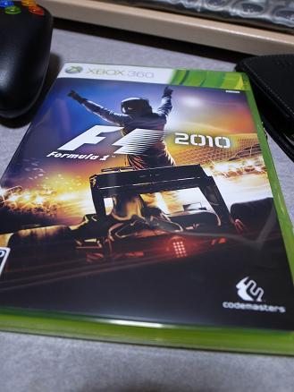 XBOX360「F1 2010」codemasters.JPG