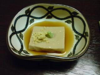木の実豆腐