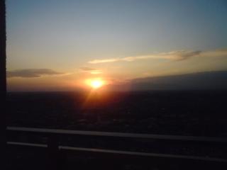 富士山と夕日_0001